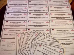 Diplome PSC1